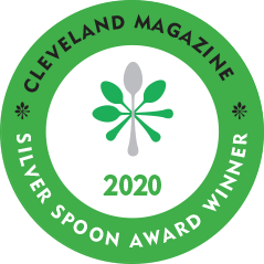 Cleveland Magazine Silver Spoon Award 2020 Best Fine Dining Restaurant